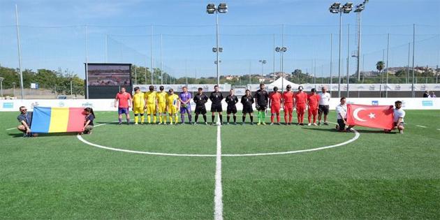 Görme Engelliler Futbol Milli Takımı'nda yarı final sevinci