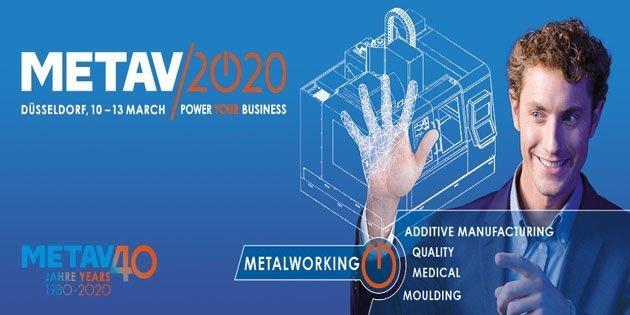METAV 2020, 10 Mart 2020'de Teknoloji Penceresini Düsseldorf'ta açıyor…