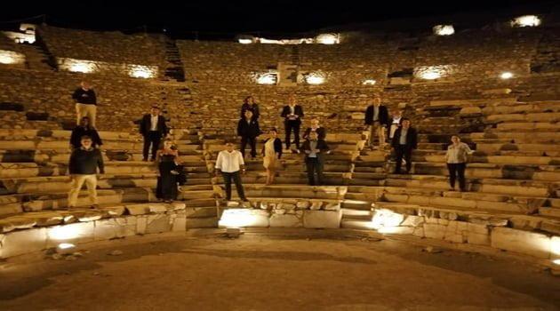 Almanya'nın önde gelen turizmcilerini İzmir'de…