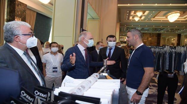 Tekstil ithalatçısı 350 firma İstanbul'da