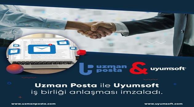 Uzman Posta ve Uyumsoft İş Birliği Anlaşması İmzaladı