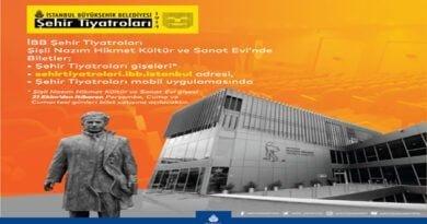 İBB Şehir Tiyatroları Şişli Nazım Hikmet Kültür Ve Sanat Evi'nde